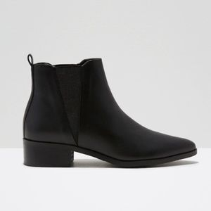 Frank and Oak Black Chelsea Boots | Size 6.5